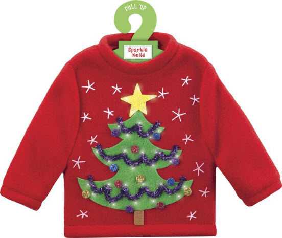 American Greetings Sparkle Knits