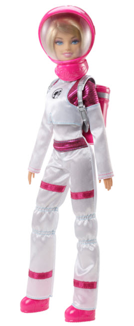Mars Explorer Barbie Doll