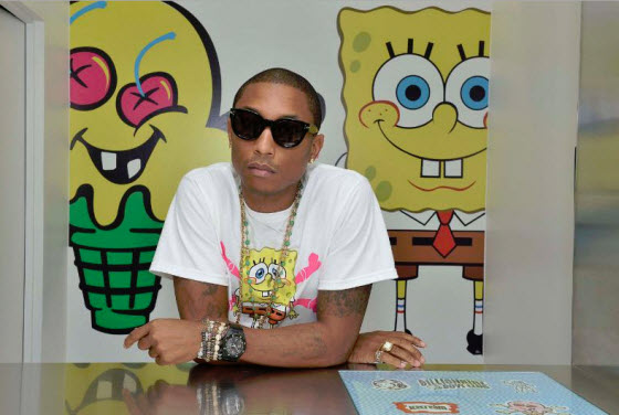 Pharrell Willians and Nickelodeon launch SpongeBob SquarePants X IceCream Fashion Line