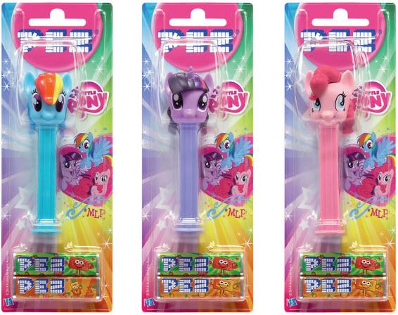 My Little Pony PEZ dispensers