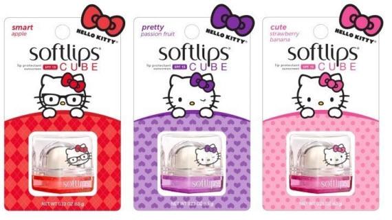 Softlips Hello Kitty Lip Balm collection