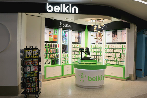 Belkin Store in LAX Airport