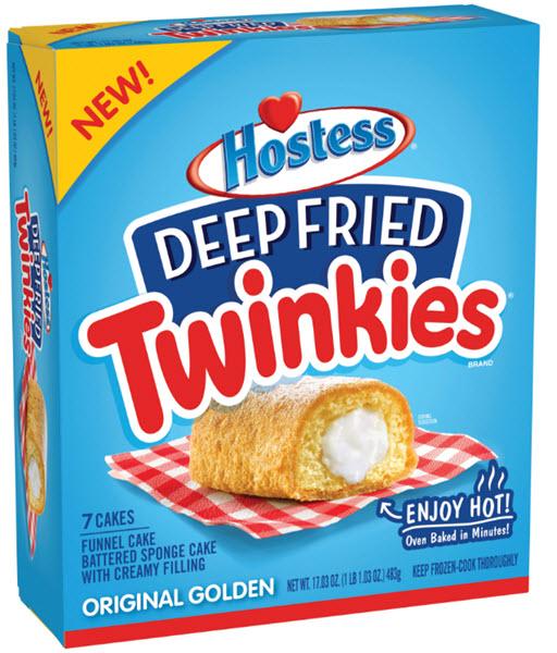 Hostess Deep Fried Twinkies Box
