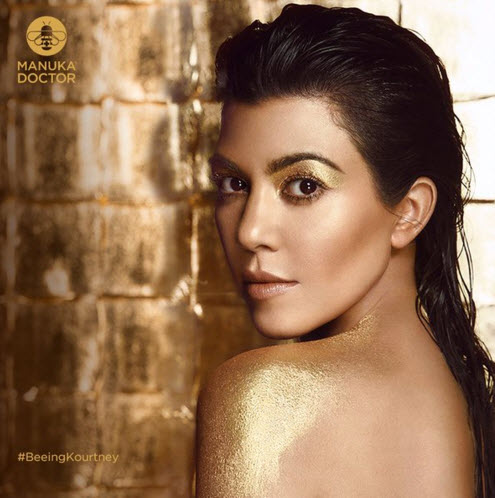 Kourtney Kardashian Manuka Doctor global ambassador