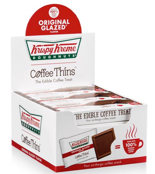 Krispy Kreme Coffee Thins