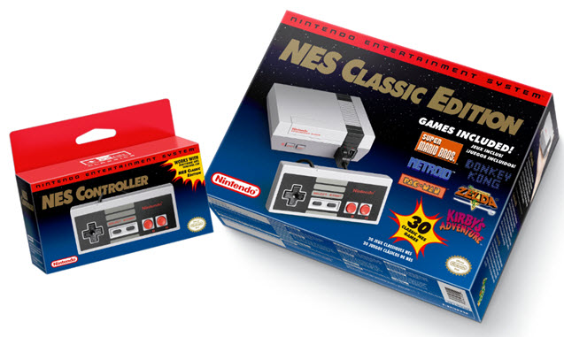 NES Classic Edition packaging