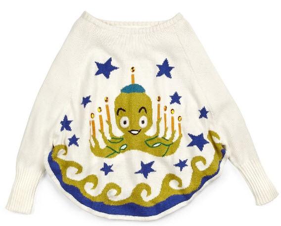 Whoopi Goldberg octopus Ugly Christmas Sweater