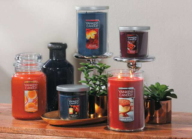 Yankee Candle Fall 2016 Candles