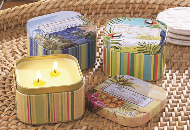 Margaritaville collection from Yankee Candle