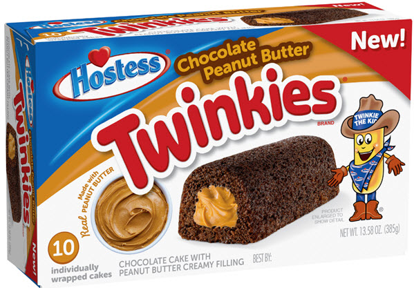 Chocolate Peanut Butter Twinkies