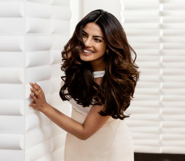 Priyanka Chopra in Pantene campaign