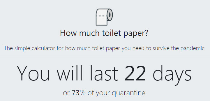How Much Toilet Paper?