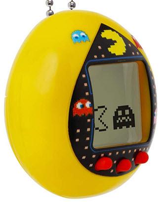 Yellow Pac-Man Tamagotchi Toy