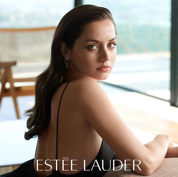 Ana de Armas for Estee Lauder
