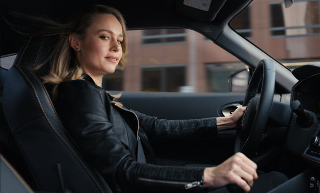 Brie Larson Nissan Commercial