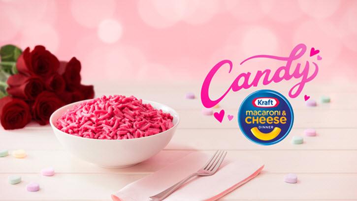 Kraft Pink Candy Mac & Cheese