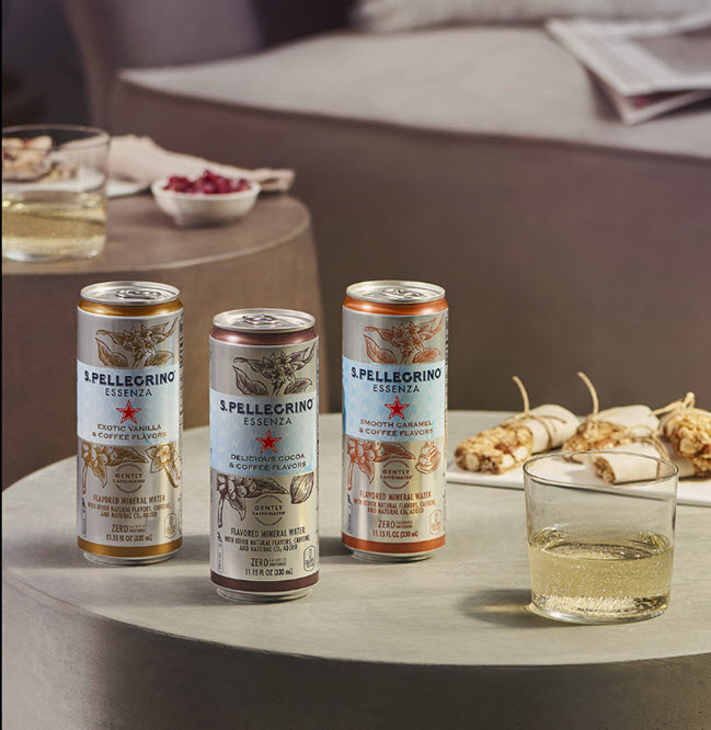 S. Pellegrino Coffee-Flavored Sparkling Waters