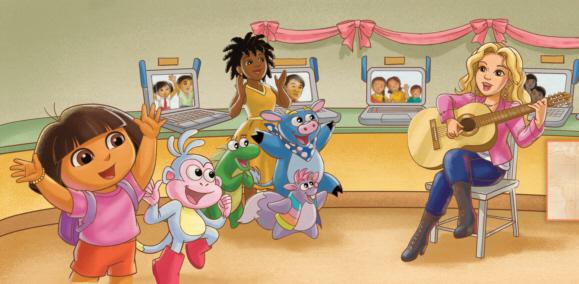 Dora the Explorer World School Day Adventure